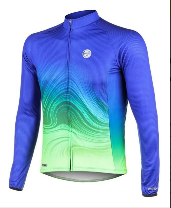 Camisa Ciclismo Mauro Ribeiro Manga Longa Streak Original
