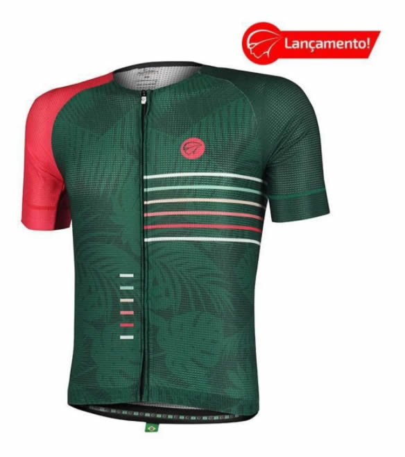 Camisa Ciclismo Mauro Ribeiro Masculina Energy Comfort