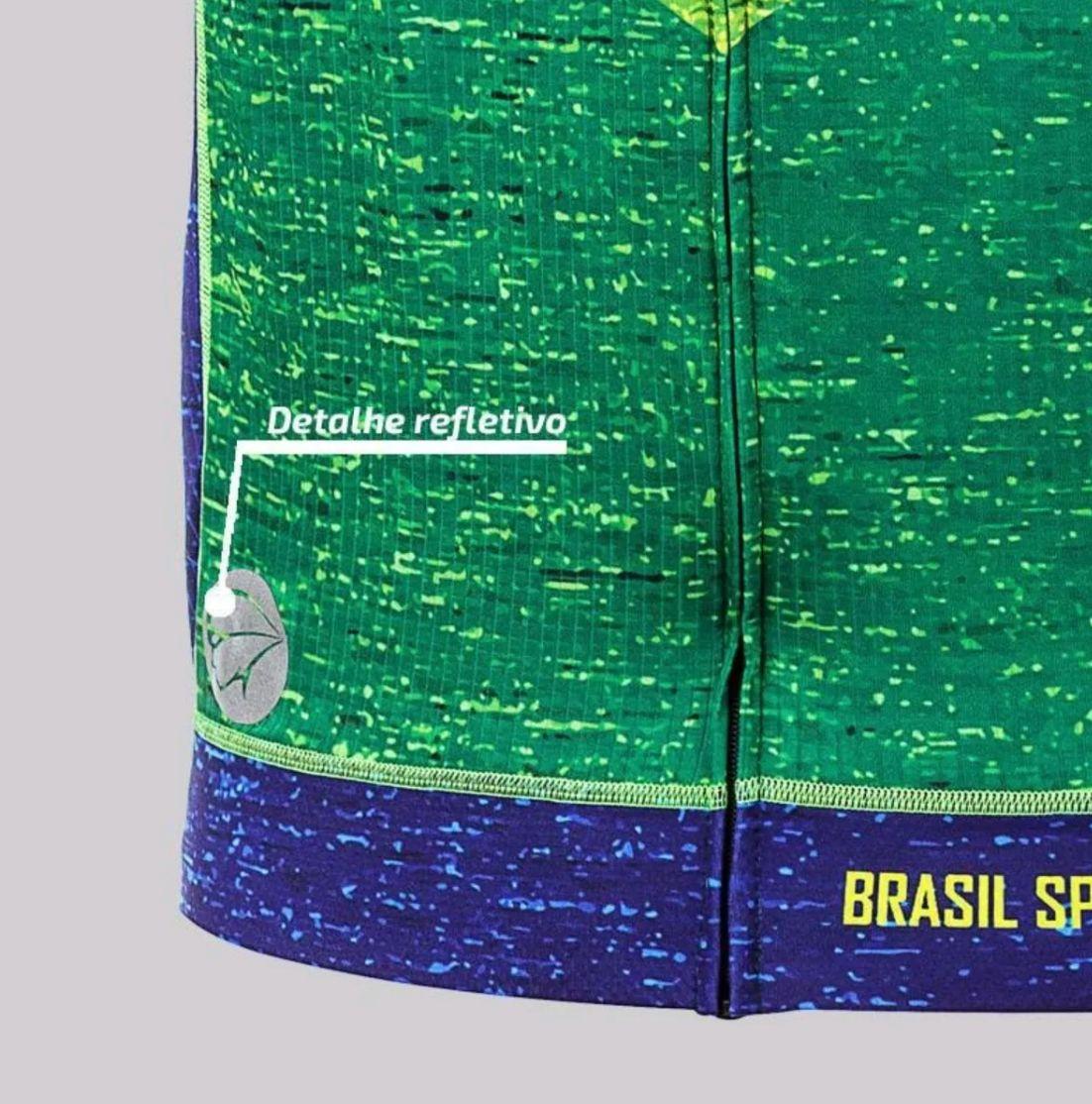 Camisa De Ciclismo Mauro Ribeiro Masculina Especial Brasil