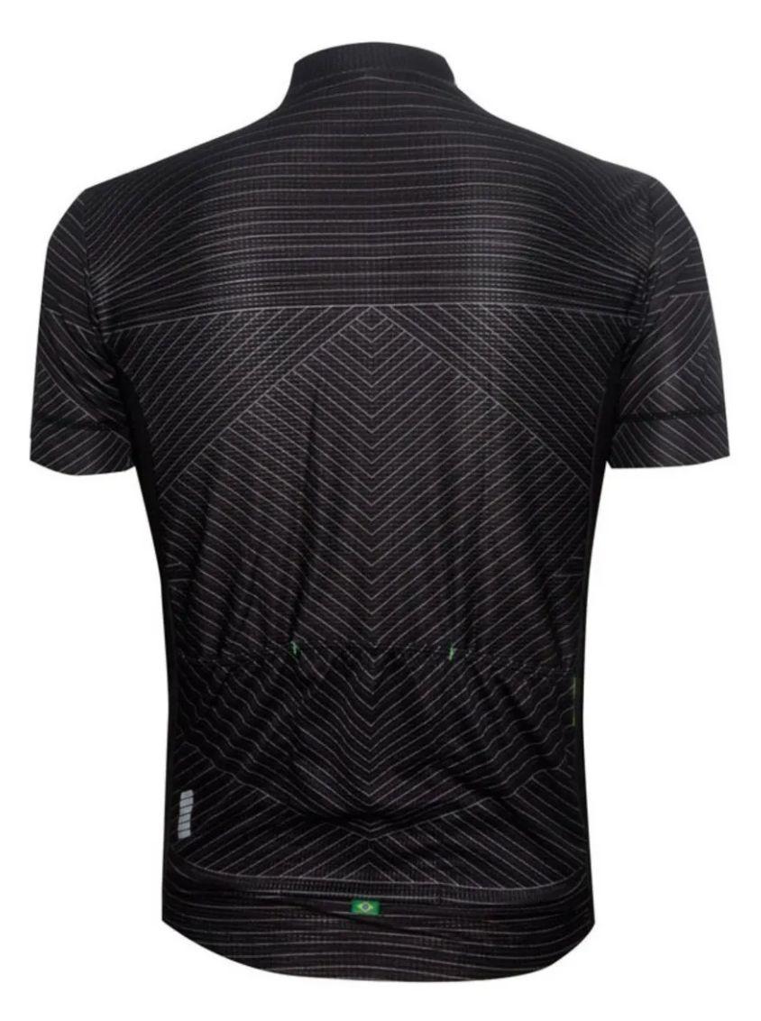 Camisa De Ciclismo Mauro Ribeiro Masculina Range Pr Comfort