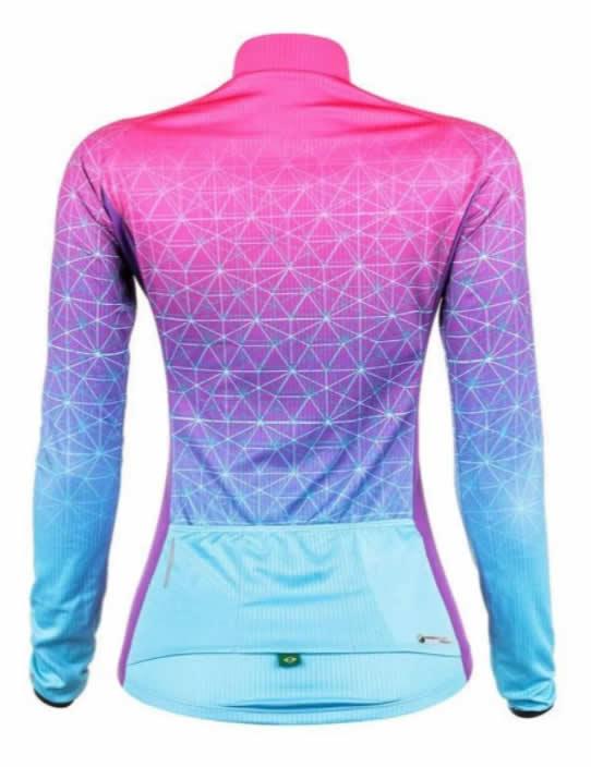 Camisa Manga Longa Ciclismo Mtb Mauro Ribeiro Weft Feminina