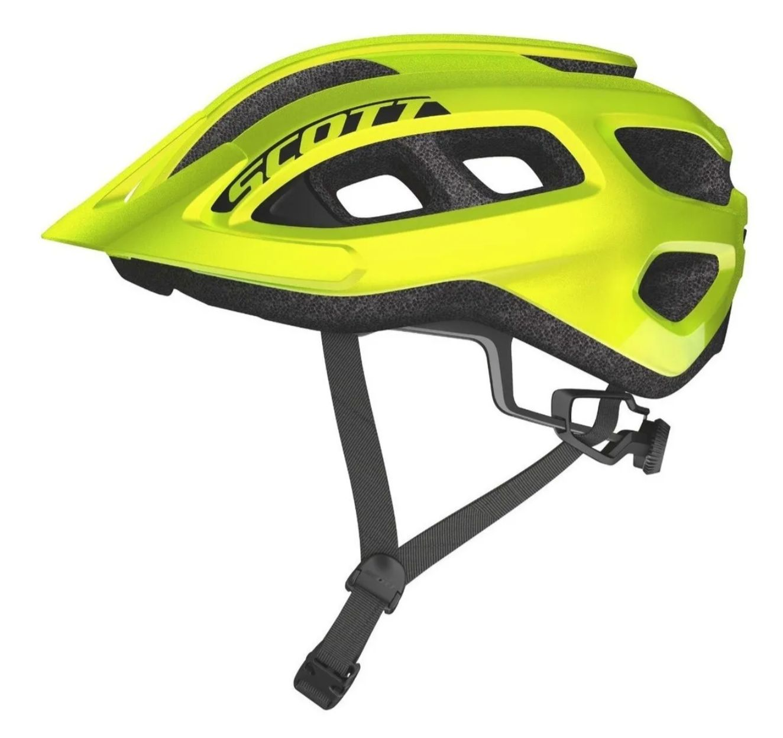 Capacete Bike Ciclismo Mtb Scott Supra Amarelo Fluor