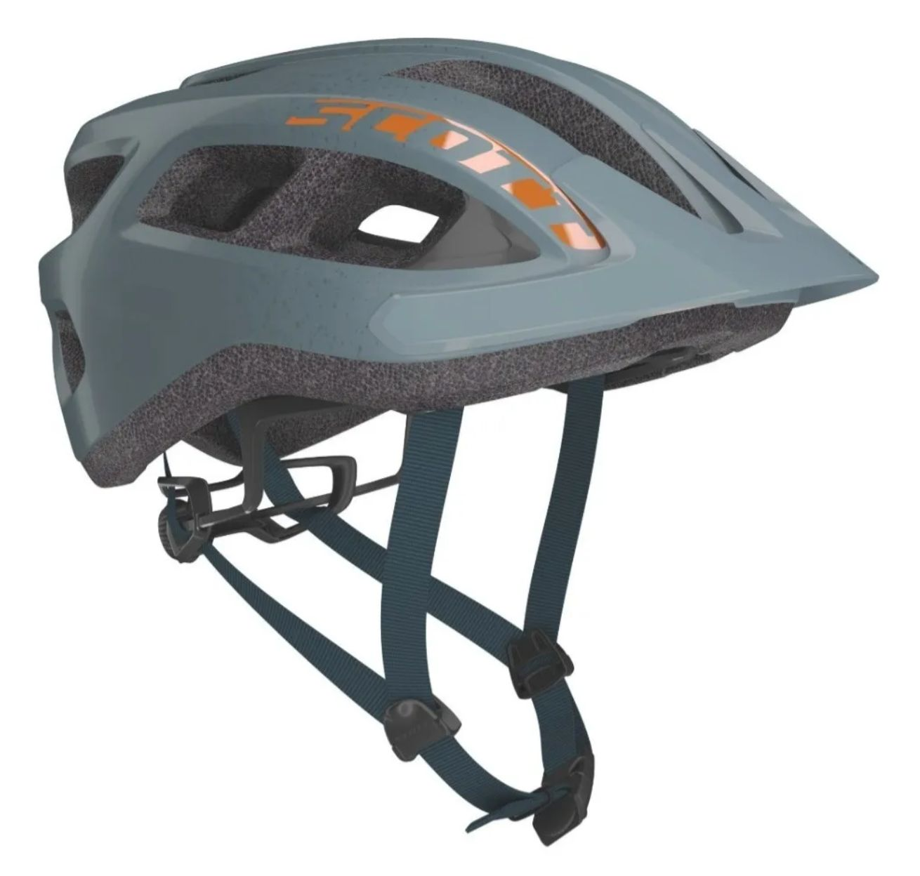 Capacete Bike Ciclismo Mtb Scott Supra Cinza Original