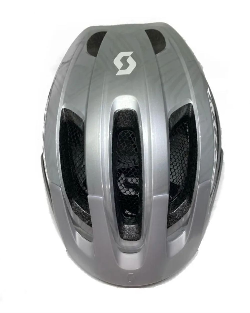 Capacete Bike Ciclismo Mtb Scott Supra Prata Original