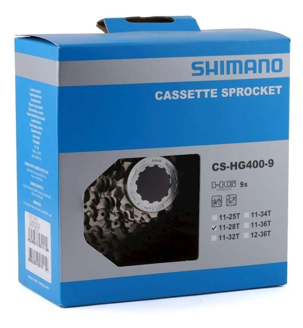 Cassete Shimano 9v Cs-hg400 11/28 Speed Sora Tiagra