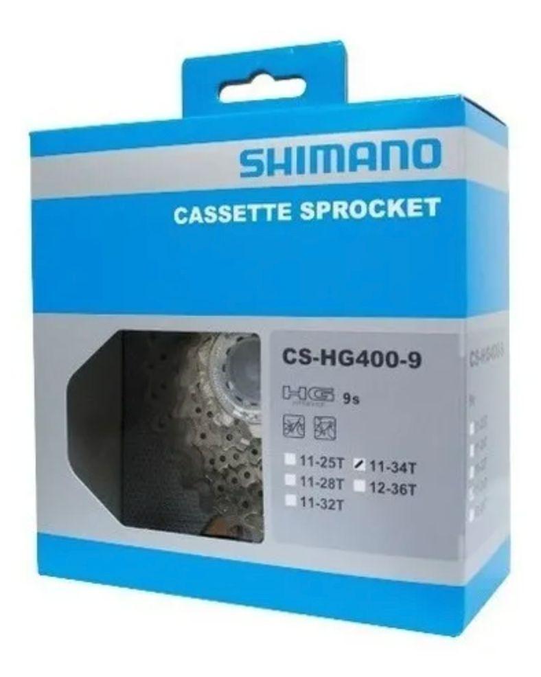 Cassete Shimano Alivio Cs-hg400 11-34 9v