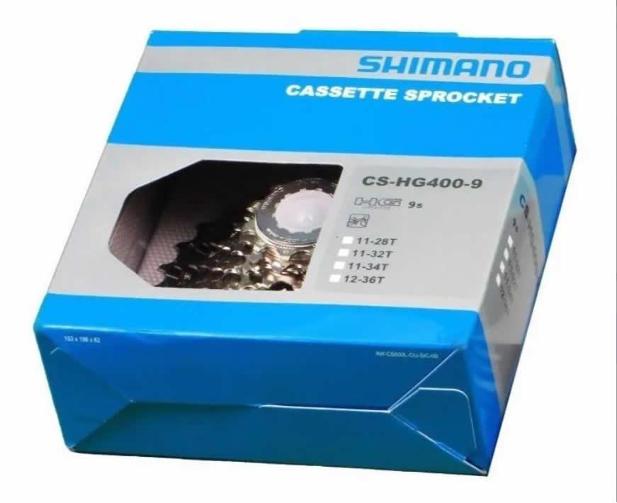 Cassete Shimano Alivio Cs-hg400 9v 12-36
