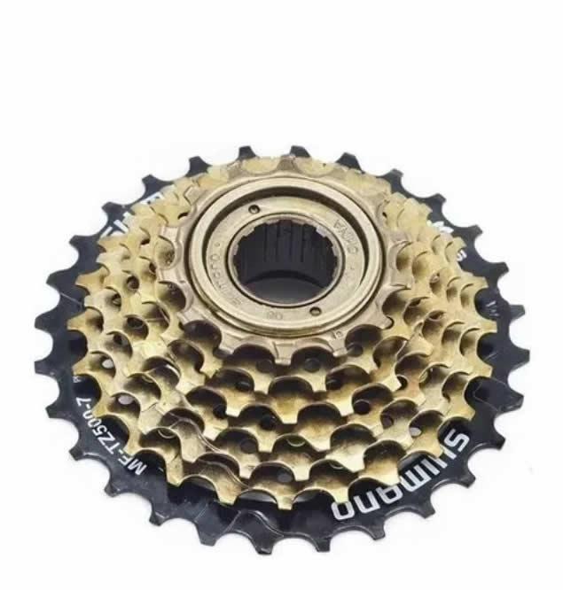 Catraca Roda Livre 7v Rosca Shimano Tz500 Bike 14/28d Bike