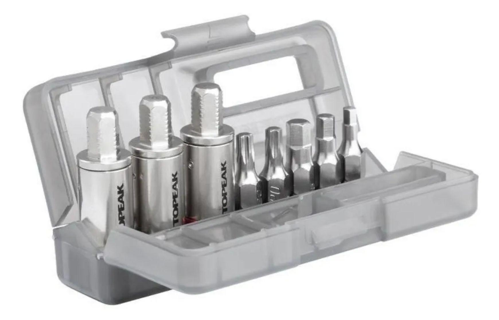 Chave Torquimetro Topeak Nano Torqbar Dx 15 Funções 4/5/6nm