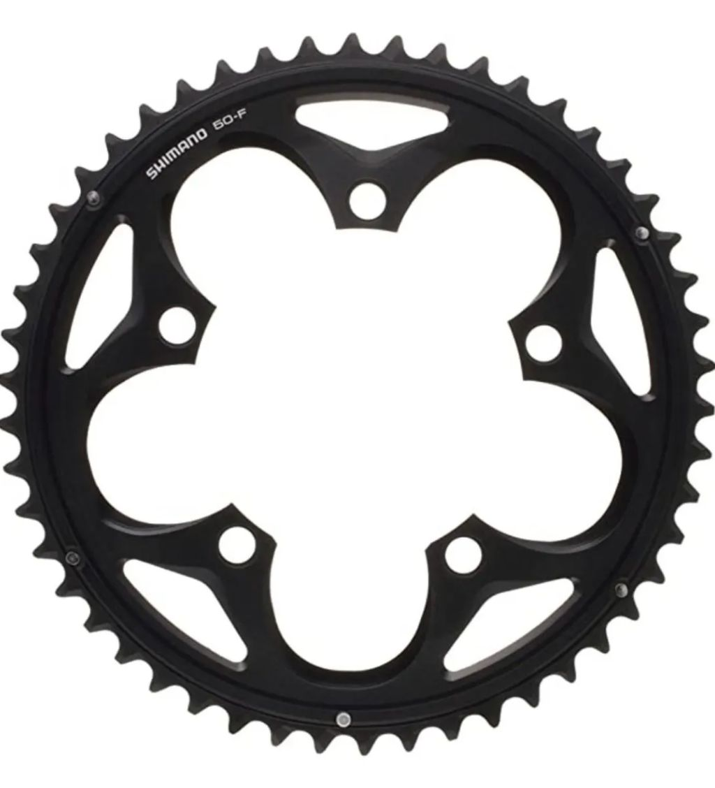 Coroa Shimano 105 Fc-5750 Bcd 110mm 50d Speed