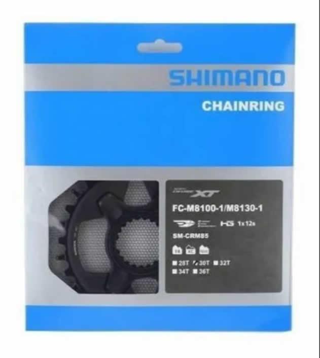 Coroa Shimano Xt 12v Fc-m8100/fc-m8130 Sm-crm85 30d