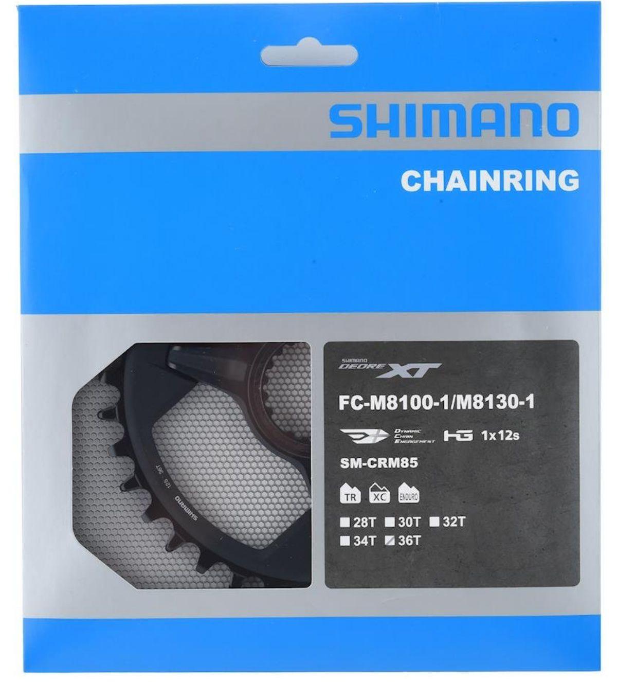 Coroa Shimano Xt 12v Fc-m8100/fc-m8130 Sm-crm85 36d