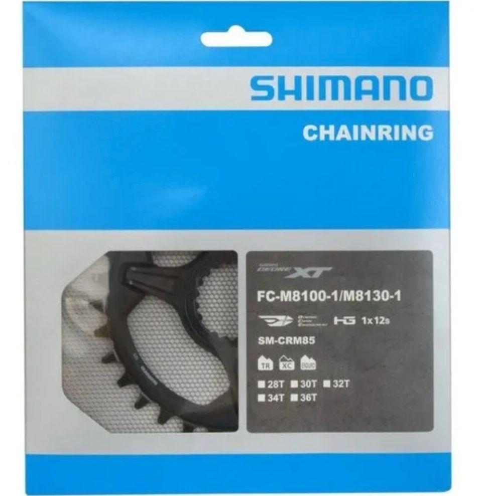 Coroa Shimano Xt M8100/m8130 12v 34d Sm-crm85 Original