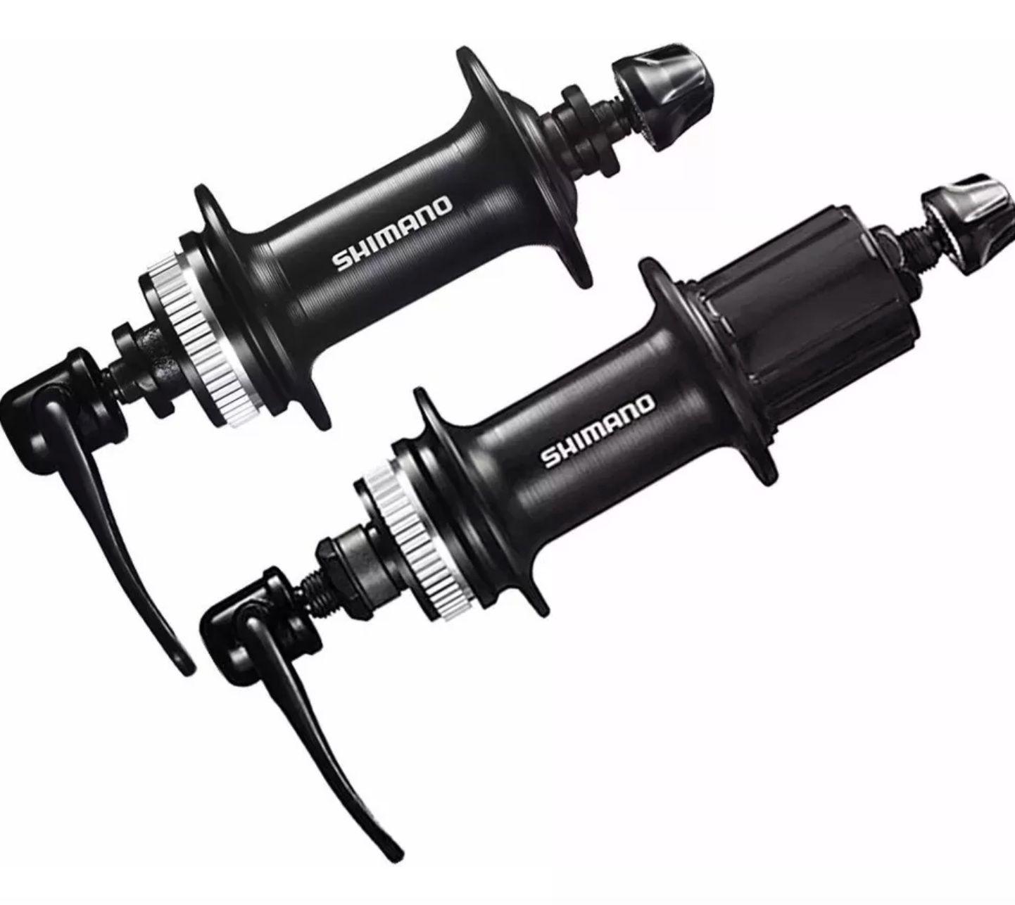 Cubo Shimano Tx505 32f 8/9/10 + Discos Shimano Rt10 160mm