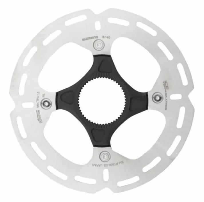 Disco De Freio Shimano Sm-rt500 140mm Ice Tech Center Lock