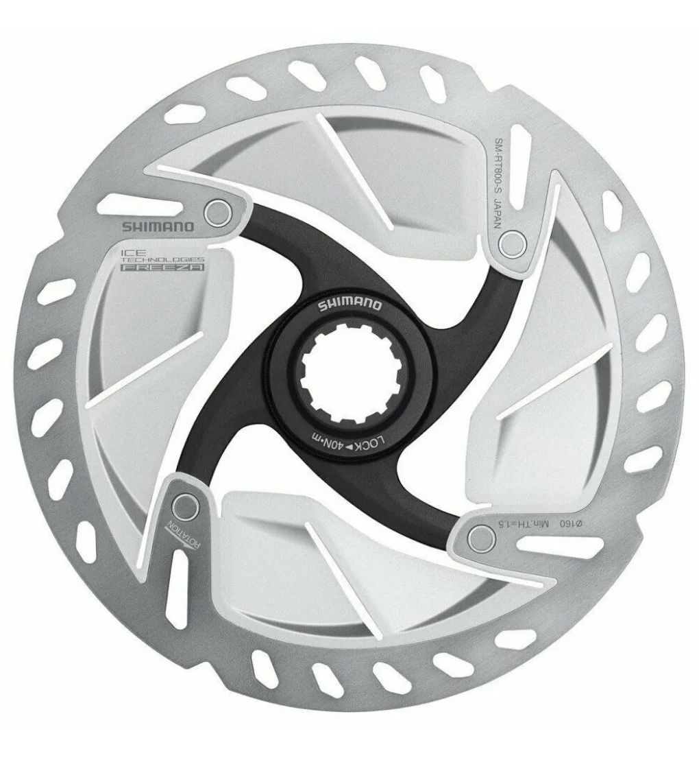 Disco Freio Rotor Shimano Rt800 160mm Freeza Ultegra Ice Tec