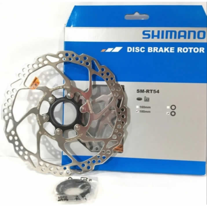 Disco Rotor Shimano Deore Rt54 180mm Center Lock