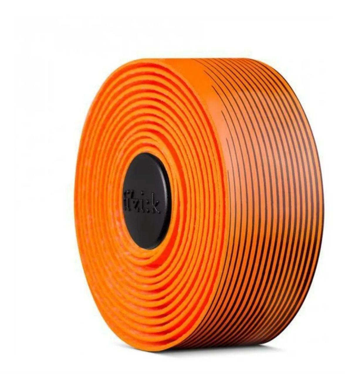 Fita Guidão Fizik Vento Tacky Microtex 2mm Preto/laranja
