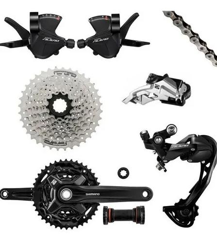 Grupo Shimano Alivio 27v 3x9v M3100 Bicicleta Mtb