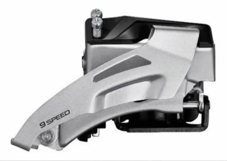 Grupo Shimano Alivio/altus 2x9 Pedivela 36/22 175mm