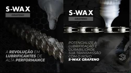 Lubrificante Cera Bike Corrente Session S-wax Grafeno 100ml