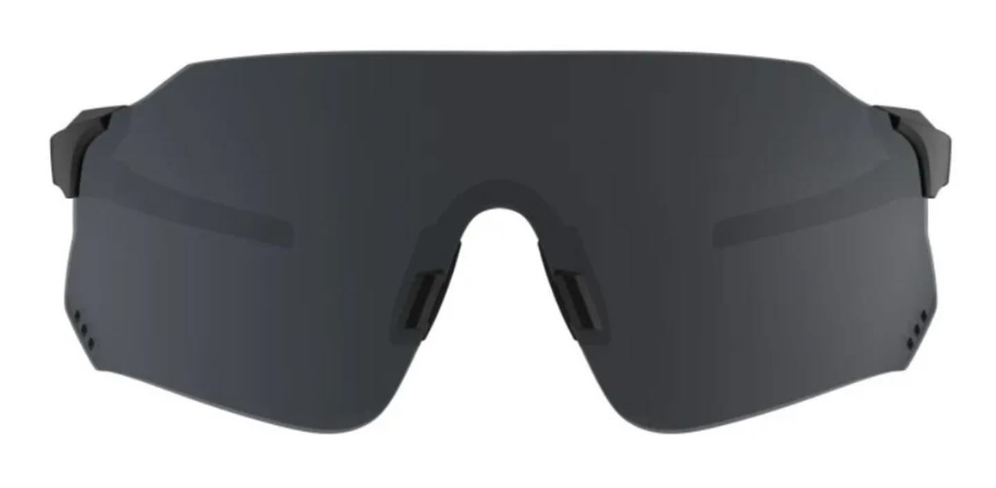Óculos Ciclismo Hb Quad X Matte Black Gray