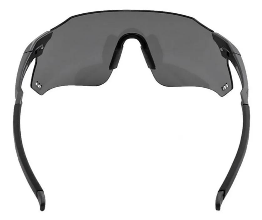 Óculos Ciclismo Hb Quad X Matte Graphite Silver