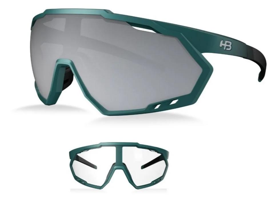 Óculos Ciclismo Hb Spin Gradient Dark 2 Lentes