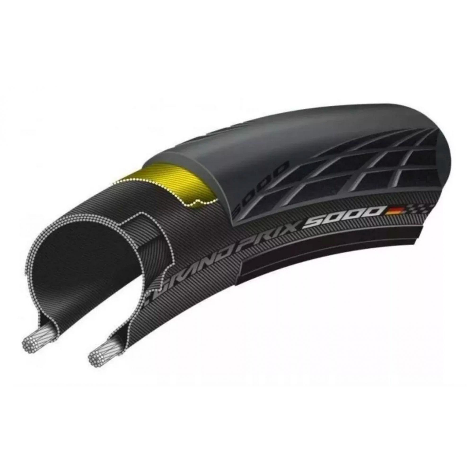 Par De Pneus Continental Grand Prix 5000 700x23 Par