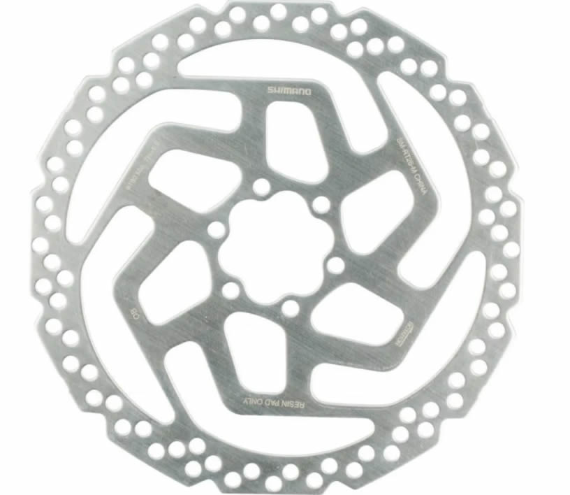 Par Disco Freio Rotor Shimano Rt26 160mm+180mm Parafusos