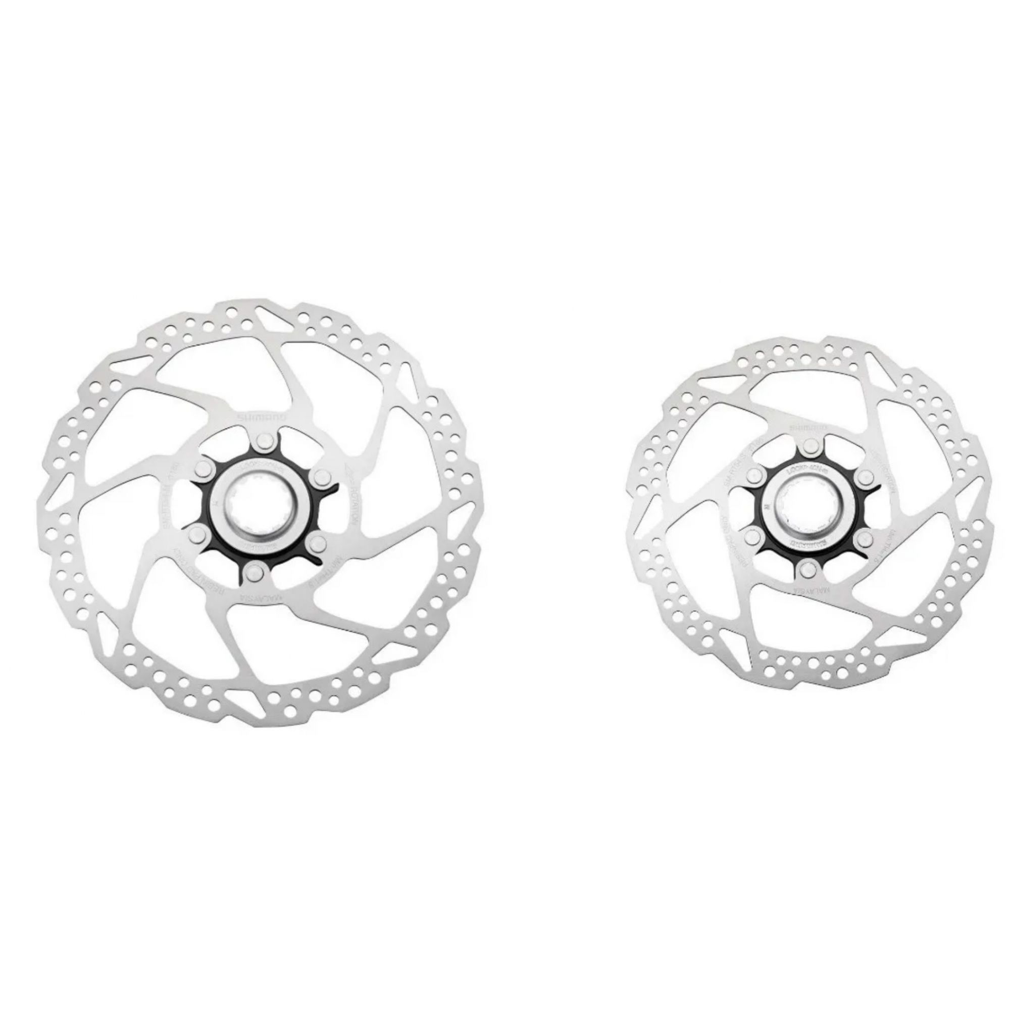 Par Disco Freio Rotor Shimano Rt54 160mm + 180mm Center Lock