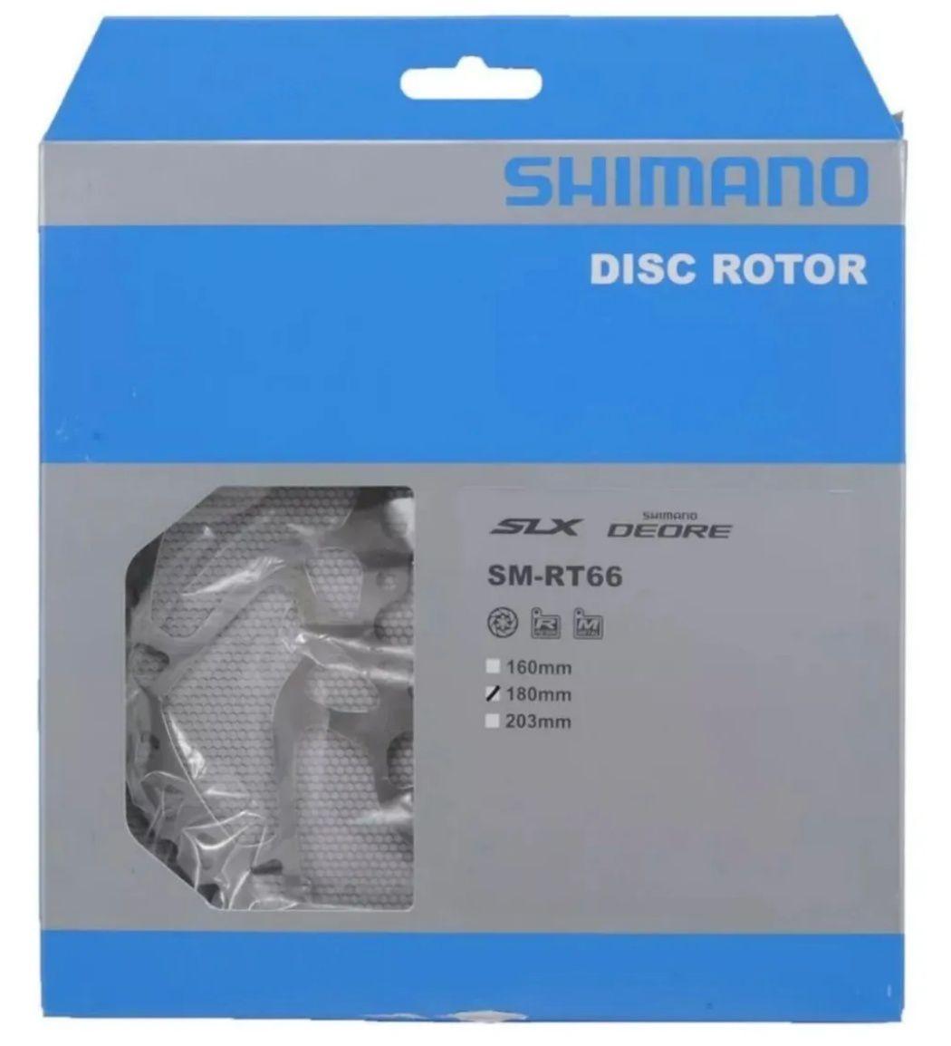 Par Discos De Freio Shimano Rt66 Deore Slx 160mm E 180mm
