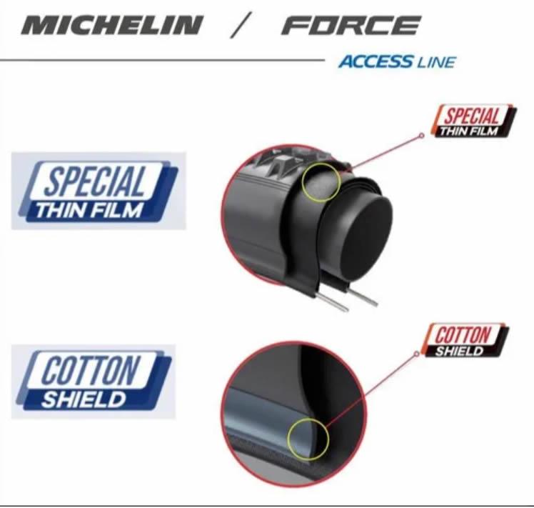 Par Pneu Michelin Force Access Line Talão Rígido 29x2.25