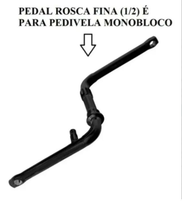 Pedal Bicicleta Metalciclo Alumínio 1/2 Rosca Fina Par Mtb