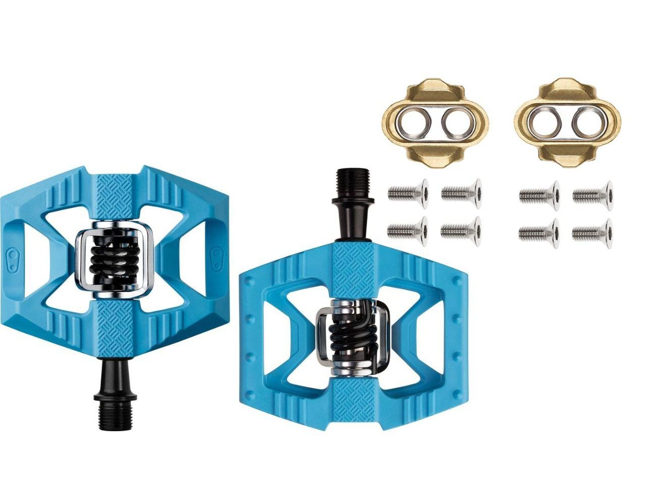 Pedal Crank Bothers Double Shot 1 Plataforma Clip + Tacos