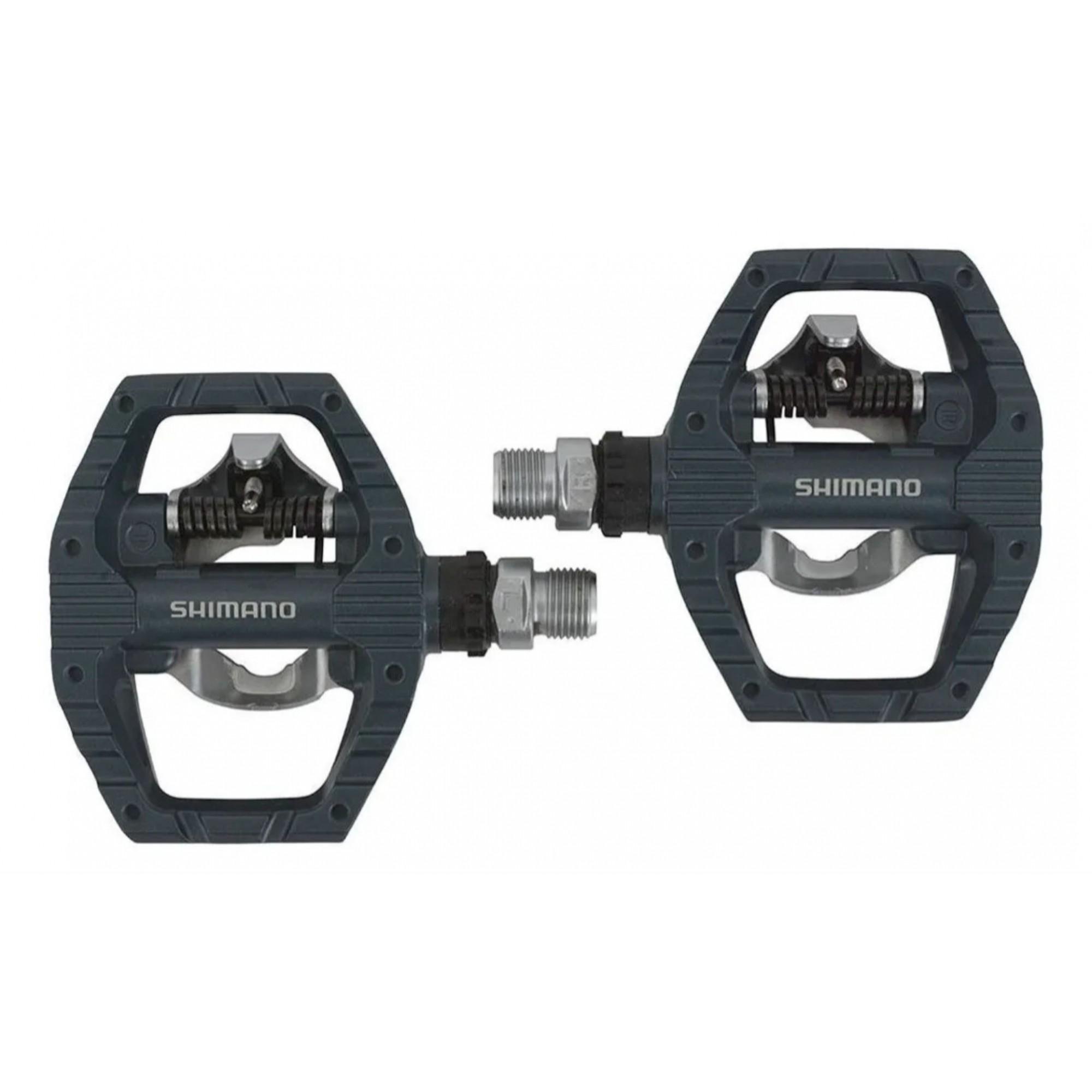 Pedal Shimano Pd-eh500 Plataforma Clip Com Tacos Lançamento