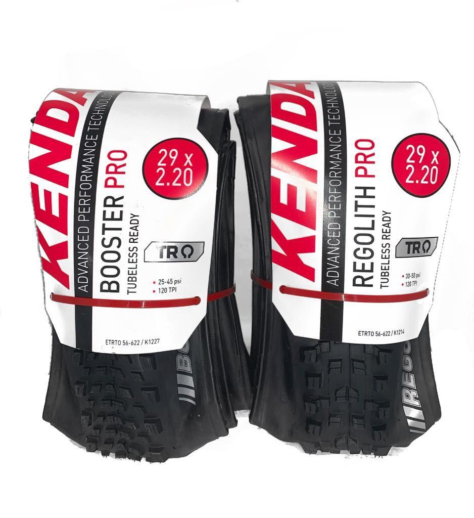 Pneu Kenda Regolith Pro 29x2.2 + Booster Pro 29x2.2 Tubeless