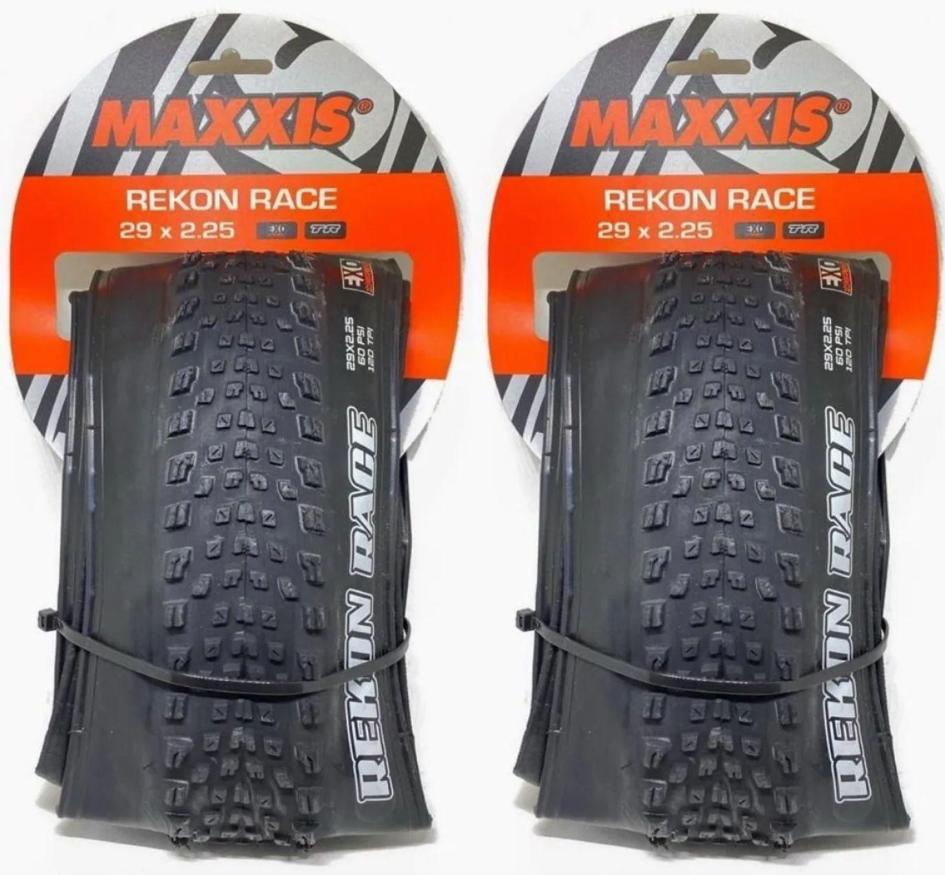 Pneu Maxxis Rekon Race 29x2.25 Exo Protection Tlr 2 Unidades