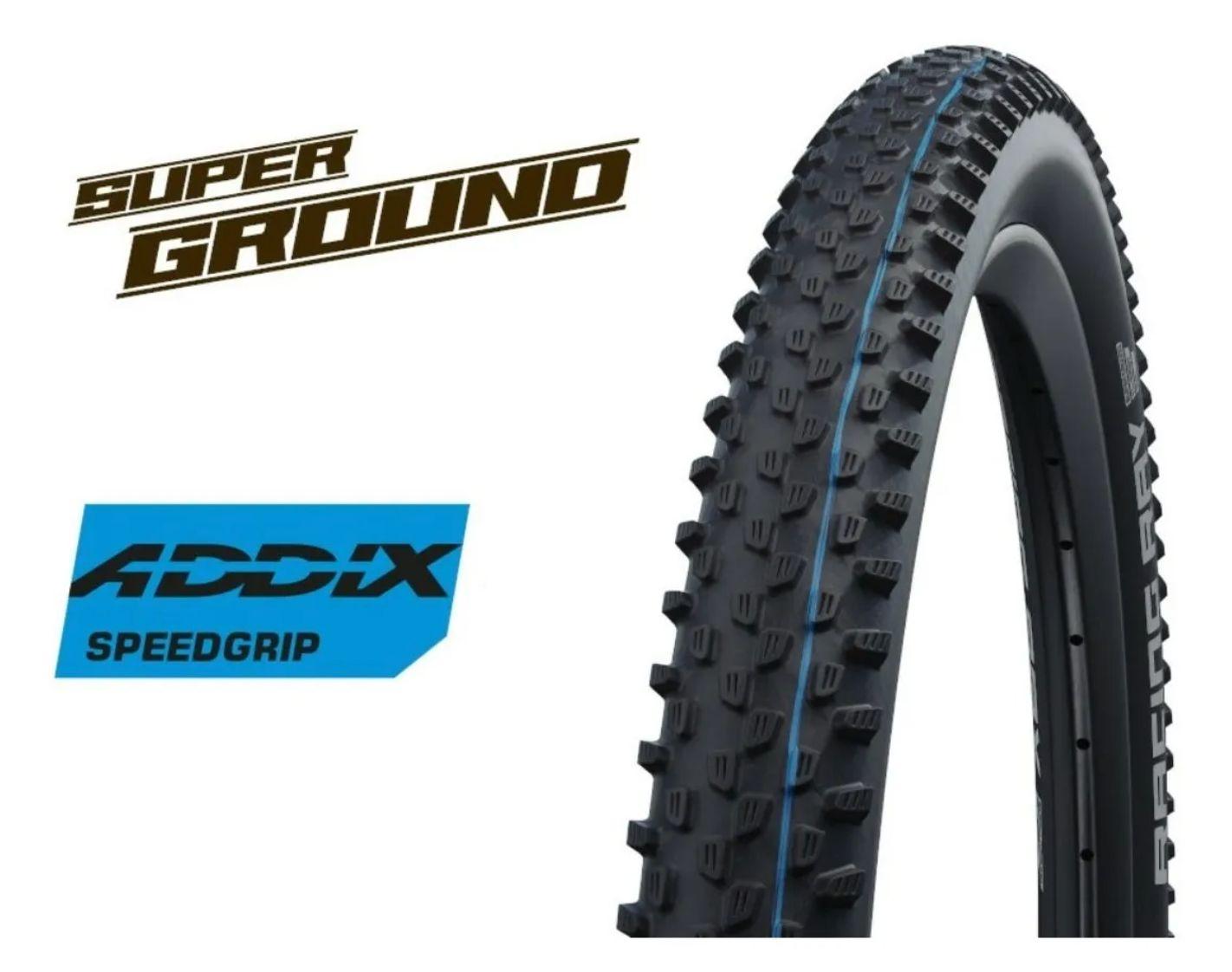 Pneu Schwalbe Racing Ray Superground Snakeskin Addix 29x2.35