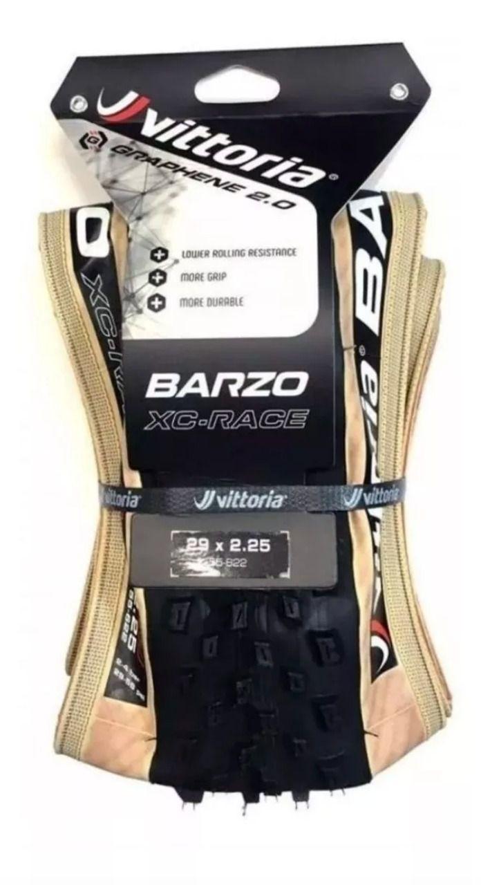 Pneu Vittoria Barzo Xc Race 29x2.25 Grafeno 2.0 Tubeless Mtb