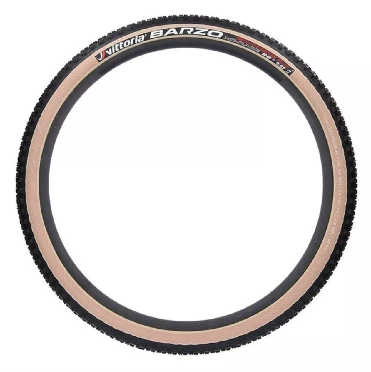 Pneu Vittoria Mezcal + Barzo 29x2.25 Grafeno 2.0 Xc Race Mtb