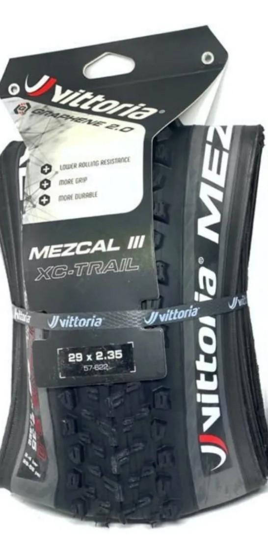 Pneu Vittoria Mezcal Iii Xc Trail 29x2.35 Tlr Grafeno 2.0