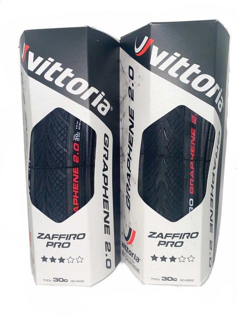 Pneu Vittoria Zaffiro Pro Iv 700x30c Grafeno 2.0 Par 2 Uni
