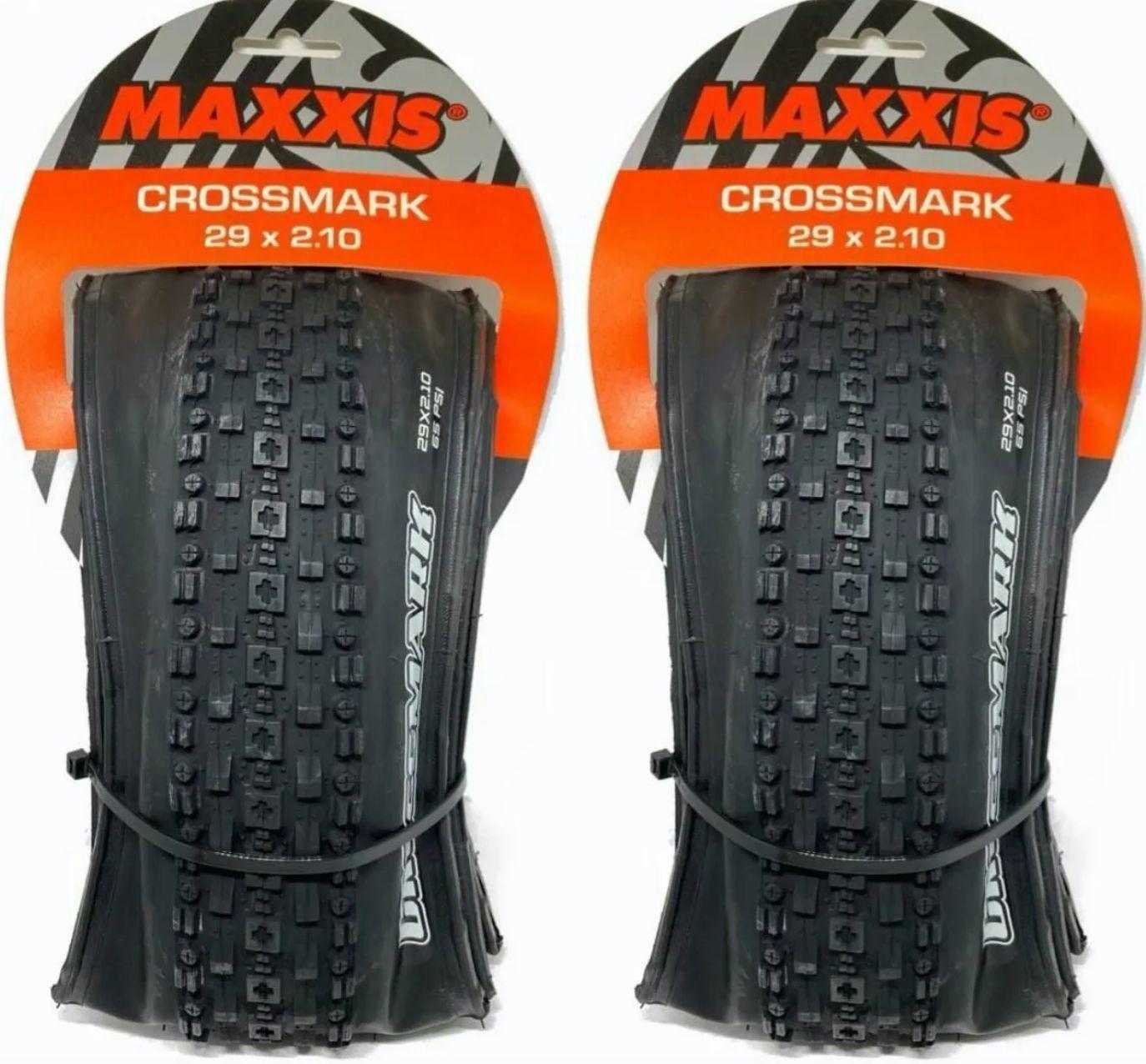 Pneus Maxxis Crossmark 29 X 2.10 Kevlar Dobrável 2 Pneus Par
