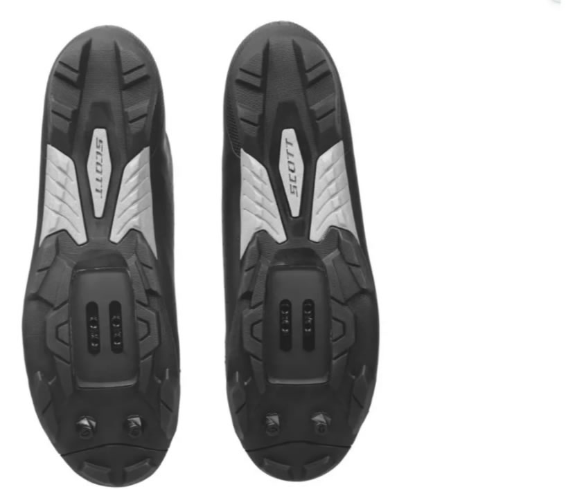 Sapatilha Scott Comp Boa 2022 Preta/prata Mtb Clip Bike
