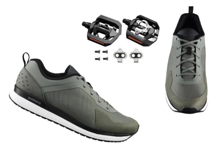 Sapatilha Shimano Sh-ct500 + Pedal Shimano Click'r Pd-t421