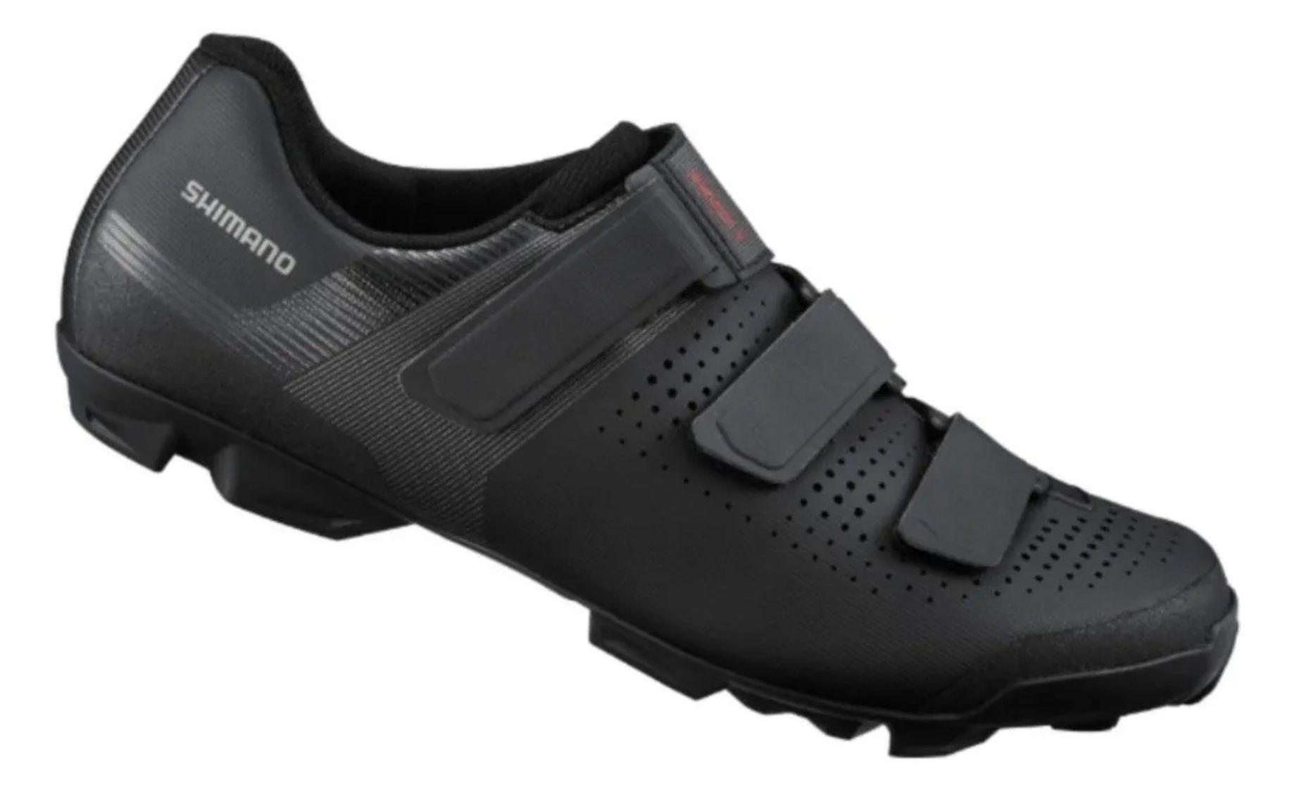 Sapatilha Shimano Xc1 Xc100 P/ Pedal Clip Ciclismo Mtb Preta