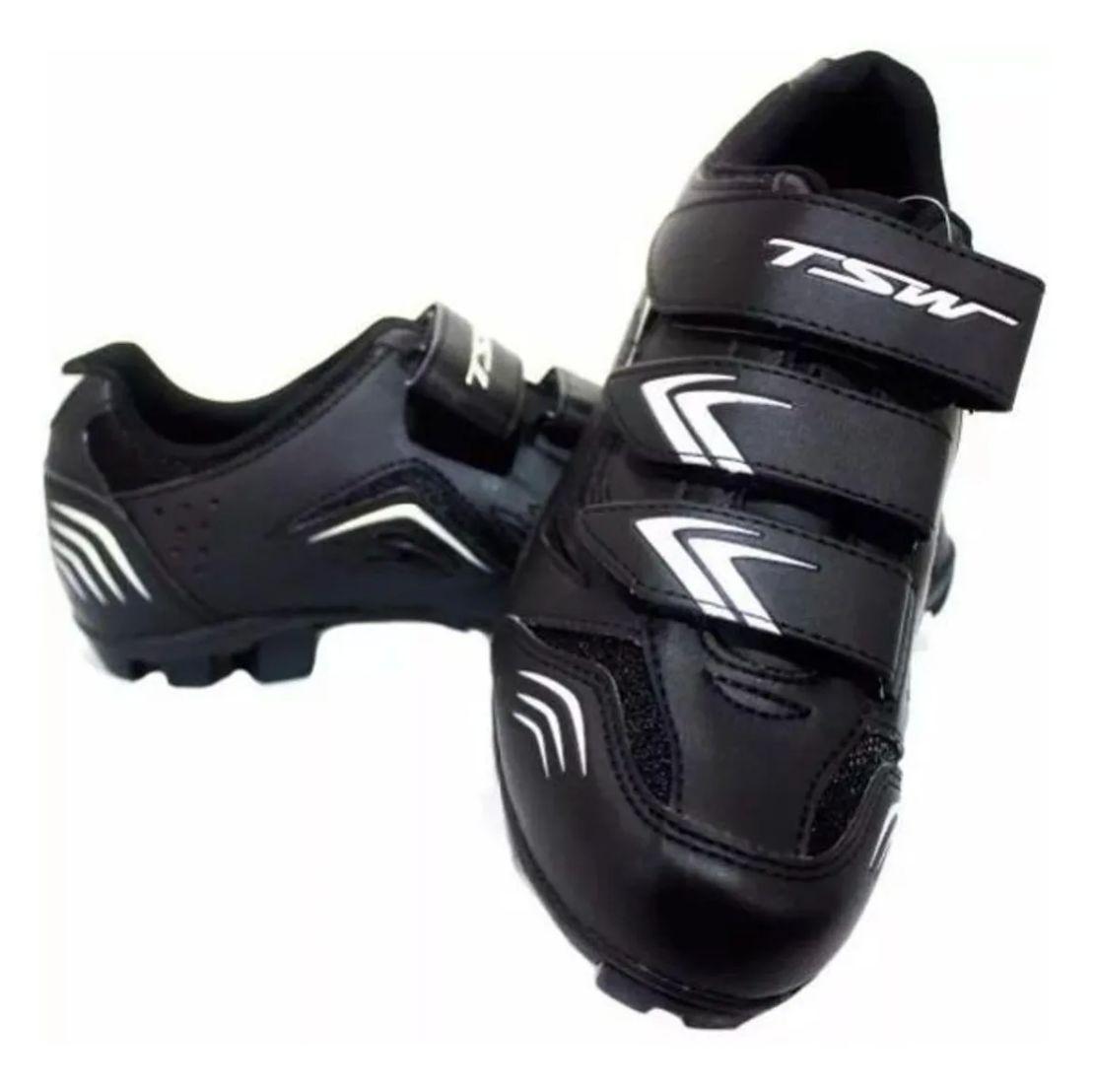 Sapatilha Tsw New Fit P/ Pedal Clip 37-38-39-40-41-42-43-44