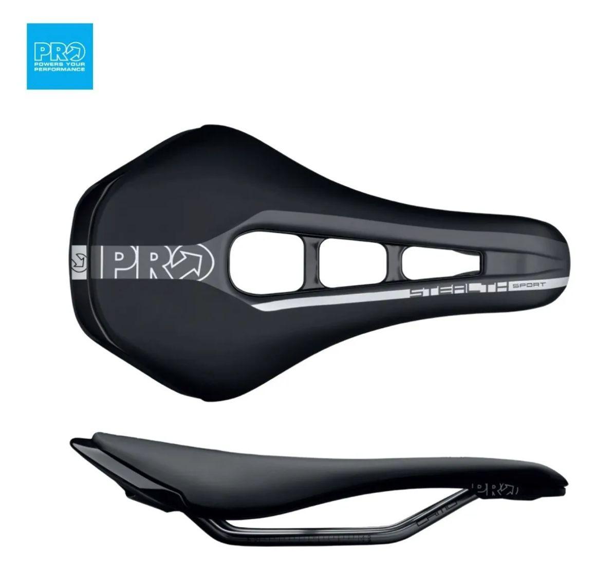 Selim Shimano Pro Stealth Inox 152mm Preto Original