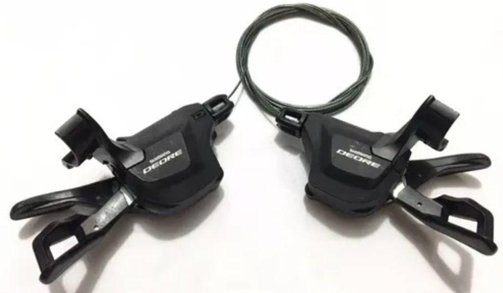 Trocador Shimano Deore Sl-m6000 2/3 X 10v I-spec 2 Preto